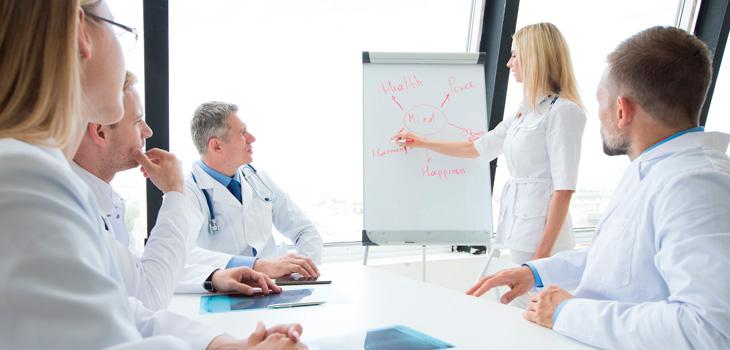 Lideratge d'equips sanitaris eficaços i saludables