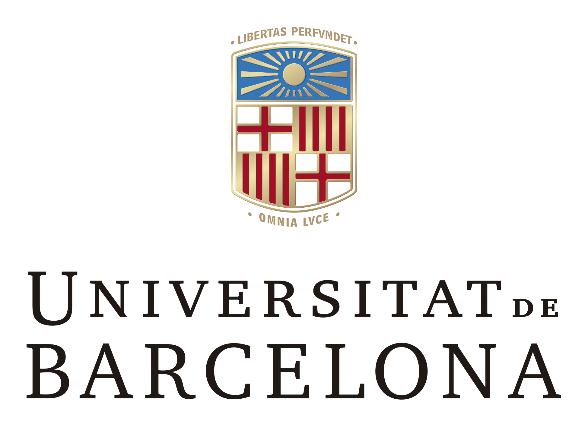 logo universitat de barcelona. marcav pos